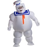 Adult Inflatable Stay Puft Ghostbuster Costume - One Size
