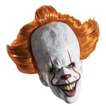 Adult IT Pennywise Deluxe Clown Overhead Latex Mask