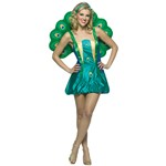 Adult Peacock Light Weight Women Standard Costume 4-10