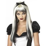 Dark Alice Long Blonde Wig Halloween Costume Accessory