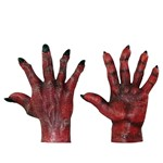 Devil Evil Red Hands Costume Accessory