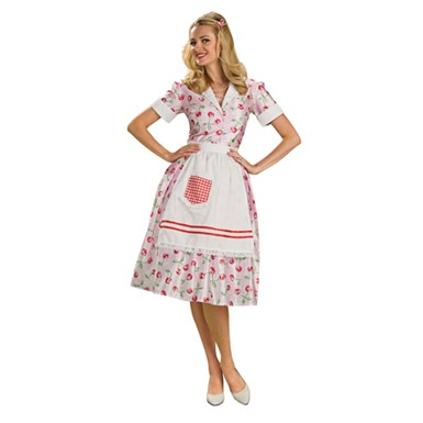 50's Adult Womens Housewife Halloween Costume