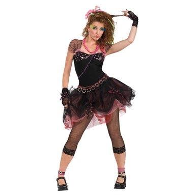 80's Diva Pop Star Adult Halloween Costume 12