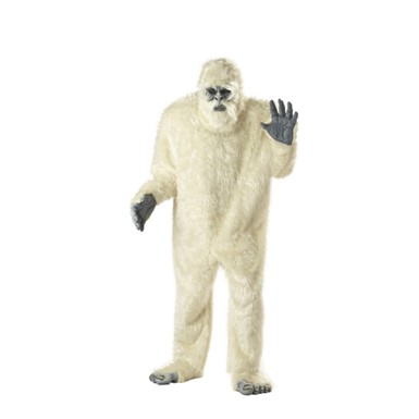 Abominable Snowman Adult Mens Halloween Costume
