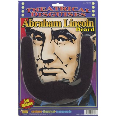 Abraham Lincoln Beard for Halloween Costume Accessory