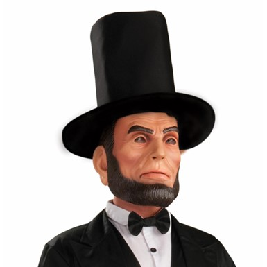 Abraham Lincoln Mens Halloween Costume Mask