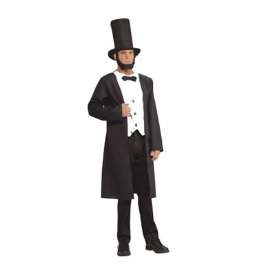 Abraham Lincoln President Adult Mens Halloween Costume
