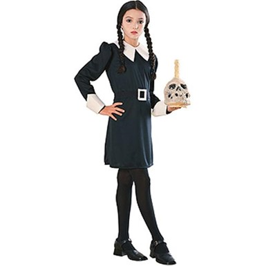 Addams Family Series Wednesday Childrens Costume