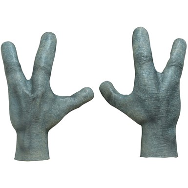 Adult Alien Hands Costume Accessory