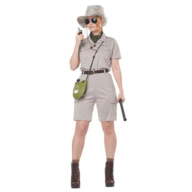 Adult Anthropologist Jurassic Park Costume