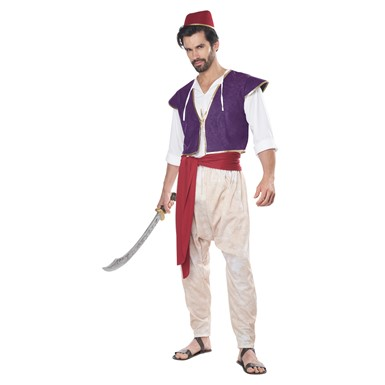 Adult Arabian Folk Hero Aladdin Disney Costume
