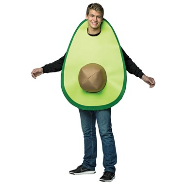 Adult Avocado Halloween Costume Standard Size