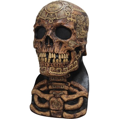 Adult Aztec Skull Halloween Mask