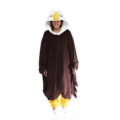 Adult Bald Eagle Mascot Halloween Costume sz Standard