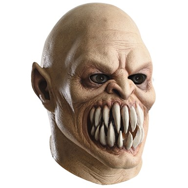 Adult Baraka Mortal Kombat Deluxe Latex Halloween Mask