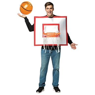 Adult Basketball Hoop Funny Halloween Costume