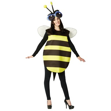 Adult Big Eyed Bee Halloween Costume