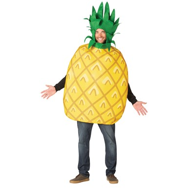 Adult Big Kahuna Pineapple Fruit Costume
