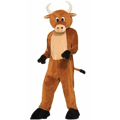 Adult Brutus The Bull Costume Size Standard