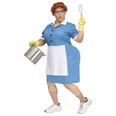 Adult Cafeteria Lady Halloween Costume