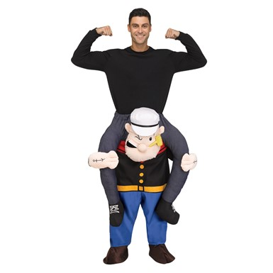 Adult Carry Me Popeye Halloween Costume