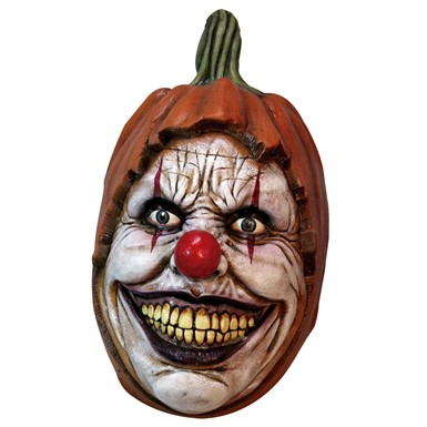 Adult Carving Clown Latex Mask