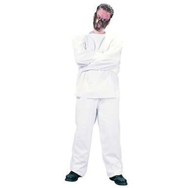 Adult Crazy Inmate Maximum Restraint Costume