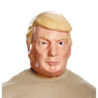 Adult Deluxe Donald Trump Latex Full Mask for Costume