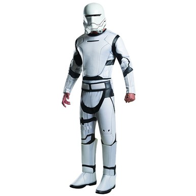 Adult Deluxe Flametrooper Unisex Star Wars Costume