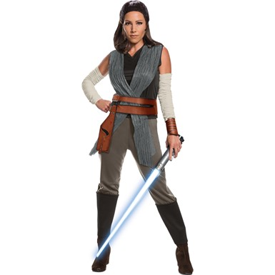 Adult Deluxe Rey The Last Jedi Star Wars Costume