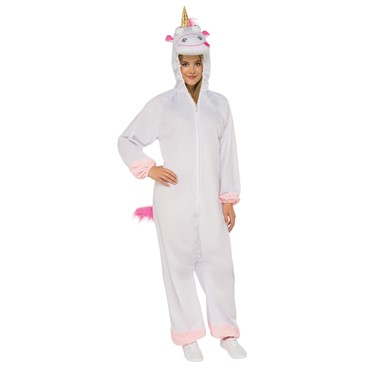 Adult Despicable Me 3 Fluffy Unicorn One Piece Costume