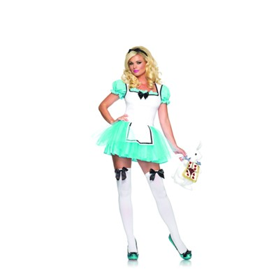 Adult Enchanted Alice Womens Halloween Costume
