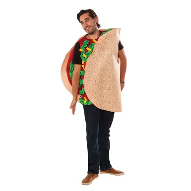 Adult Fiesta Taco Halloween Costume