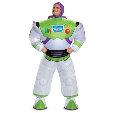 Adult Inflatable Buzz Lightyear Toy Story Costume