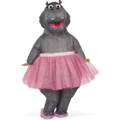 Adult Inflatable Hippo Ballerina Fantasia Costume