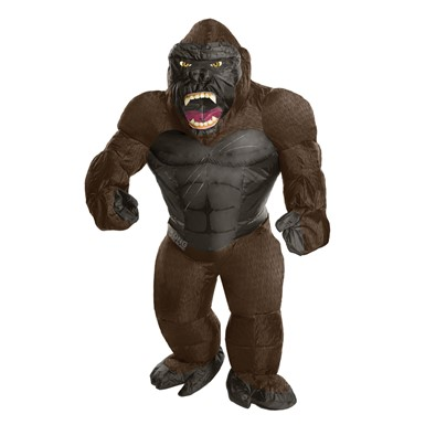 Adult Inflatable King Kong Gorilla Halloween Costume