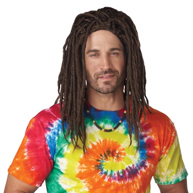 Adult Island Dreads Wig Beach Bum Costume