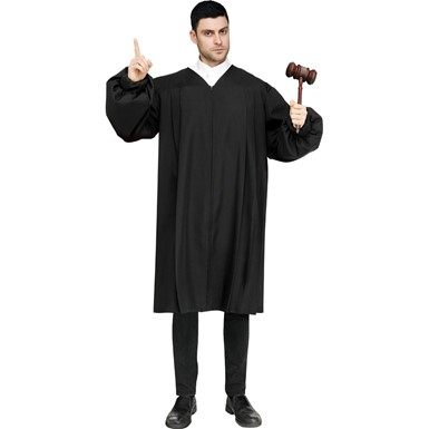 Adult Judge Robe Costume size Standard