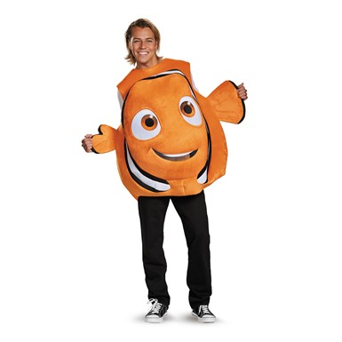 Adult Nemo Fish Disney Costume Standard Size
