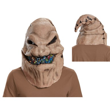 Adult Oogie Boogie Full Face Vinyl Mask