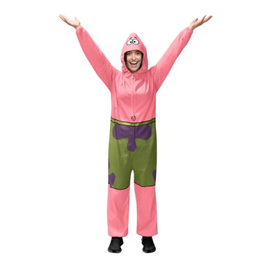 Adult Patrick Starfish Comfy Wear Jumpsuit Costume