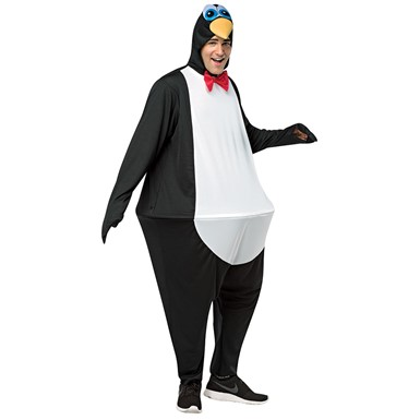 Adult Penguin Hoopster Halloween Costume