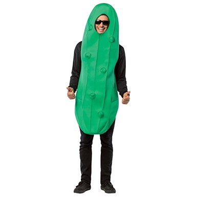 Adult Pickle Vegetable Halloween Costume