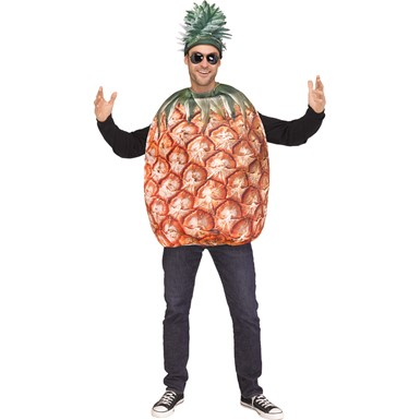 Adult Pineapple Tunic Costume size Standard