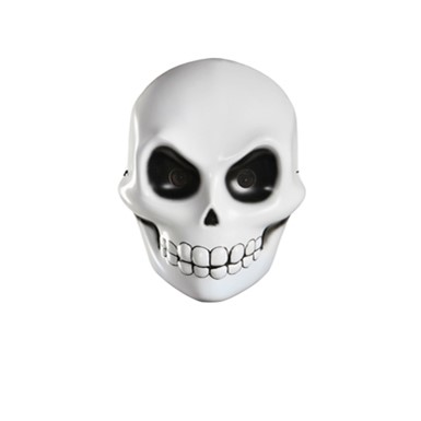 Adult Reaper Skeleton Halloween Costume Mask