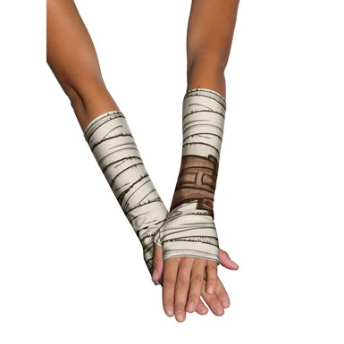 Adult Rey Glovelettes Star Wars Costume Accessory