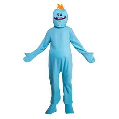 Adult Rick and Morty Mr. Meeseeks Costume