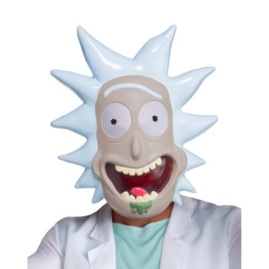 Adult Rick and Morty Rick Costume Mask