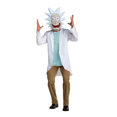 Adult Rick and Morty Rick Scientist Costume