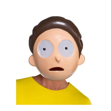 Adult Rick and Morty Smith Costume Mask